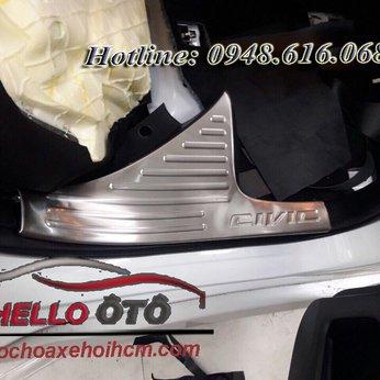 Nẹp Bước Chân Phần Trong Chống Trây Honda Civic