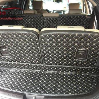 Thảm lót Cốp 5D Hyundai Santafe