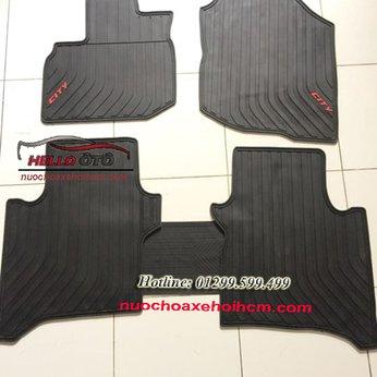 Thảm Lót Sàn Ô tô 3D Cao Su Honda City