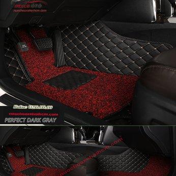 Thảm Lót Sàn Ô tô 5D - 2 Tầng Thảm (Mazda 2, 3, 6, CX5)