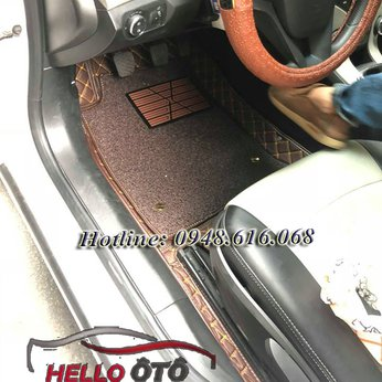 Thảm Lót Sàn Ô tô 6D Chevrolet Cruze 2018