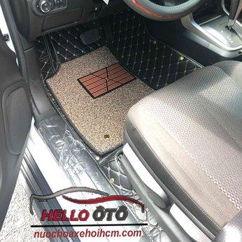 Thảm Lót Sàn Ô tô 6D Chevrolet Trailblazer 2018