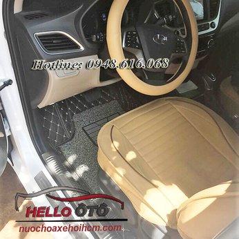 Thảm Lót Sàn Ô tô 6D Hyundai Accent 2018