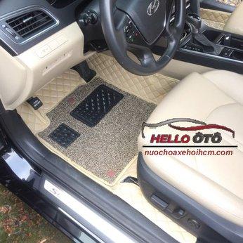Thảm lót sàn ô tô 6D Hyundai Sonata 2016