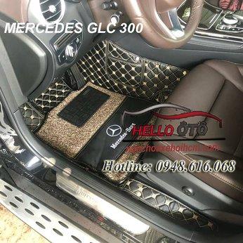 Thảm Lót Sàn ô tô 6D Mercedes GLC200 2018