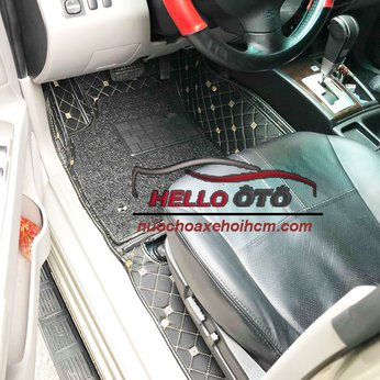 Thảm Lót Sàn ô tô 6D Mitsubishi Pajero Sport