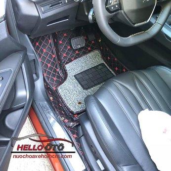 Thảm lót sàn ô tô 6d Peugeot 3008 2018