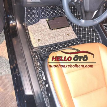 Thảm Lót Sàn Ô tô 6D Toyota Camry Da Carbon Cao Cấp