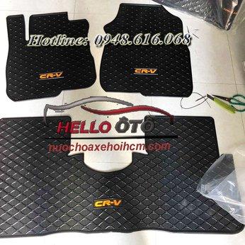 Thảm Lót Sàn Ô tô Cao Su 3D Honda CRV 2018