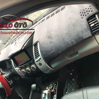 Thảm Taplo Chống Nắng Mitsubishi Pajero Sport