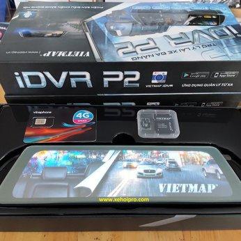 Camera Hành Trình Vietmap iDVR P2 - Điều Khiển Bằng Giọng Nói Thông Minh