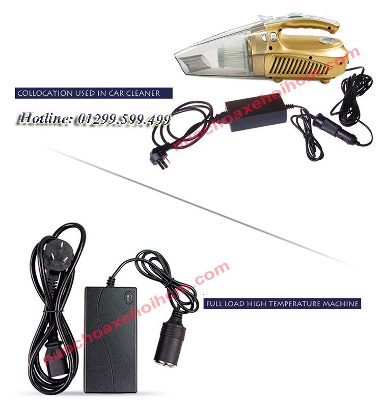 Adapter chuyển nguồn điện 220v sang 12v (Dùng tất cả các thiết bị công suất lớn)