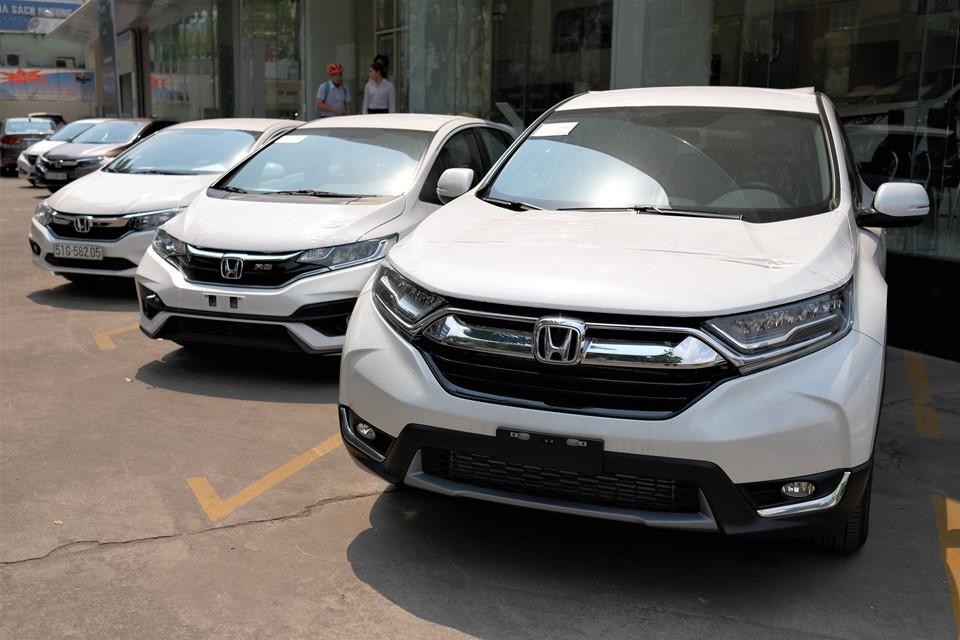 Honda CR-V hưởng thuế nhập khẩu 0% về đại lý, giao xe