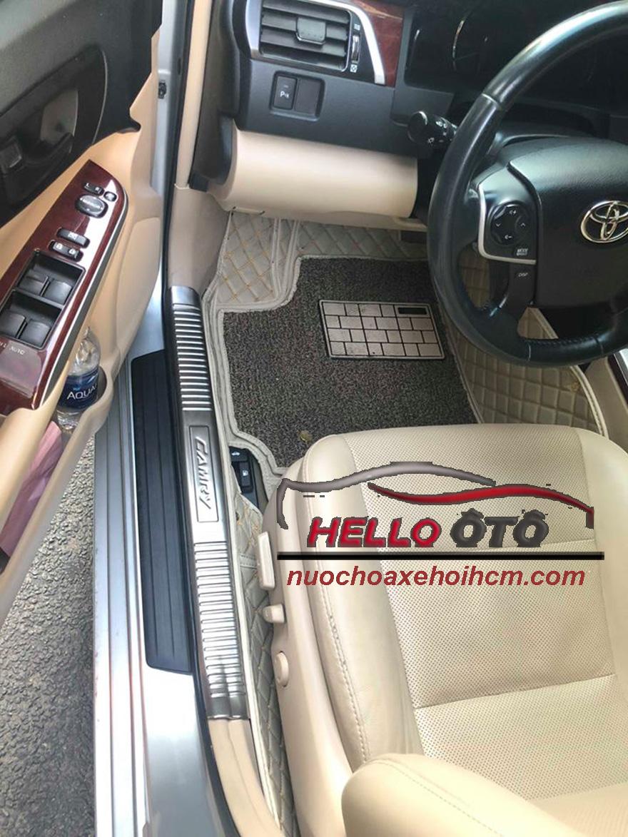 Nẹp Chống Trầy Bước Chần Trong Toyota Camry