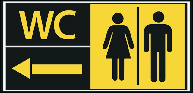 Chuyên nhận thiết kế biển chỉ dẫn,biển WC giá rẻ