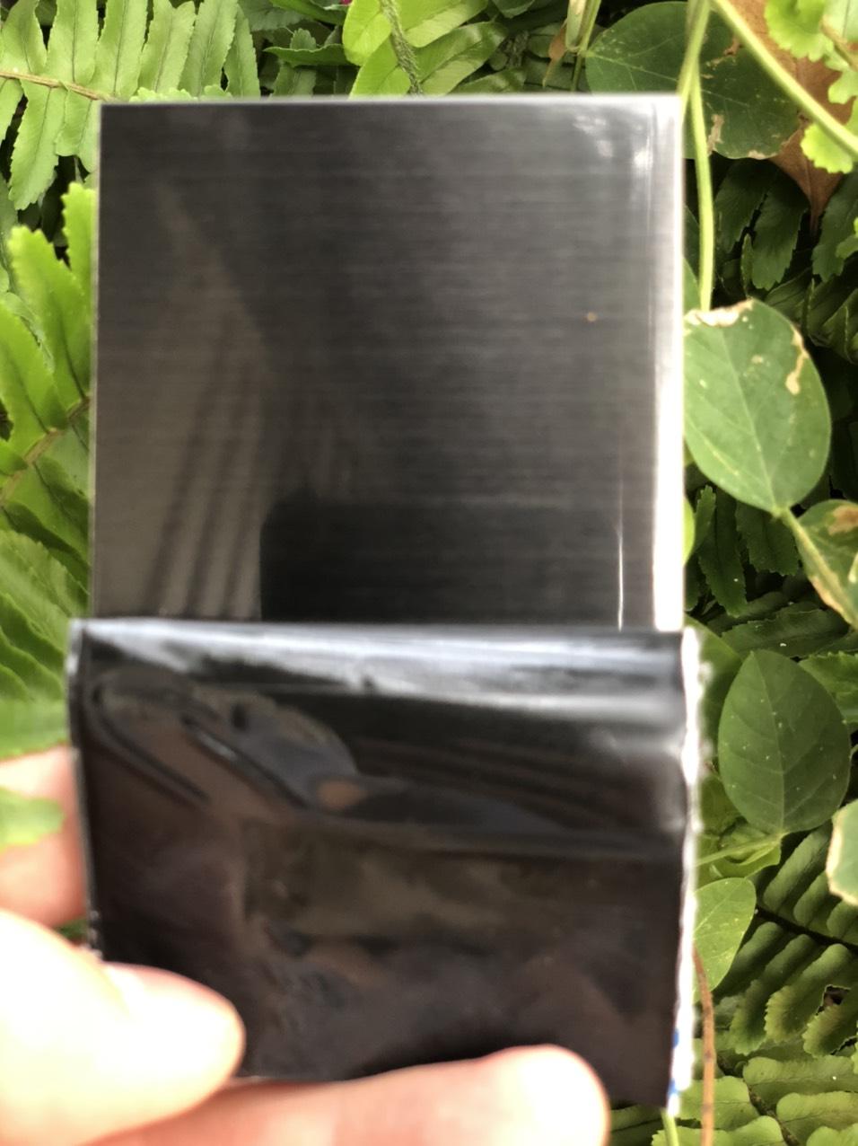 Tấm inox xước HL/No4 đen
