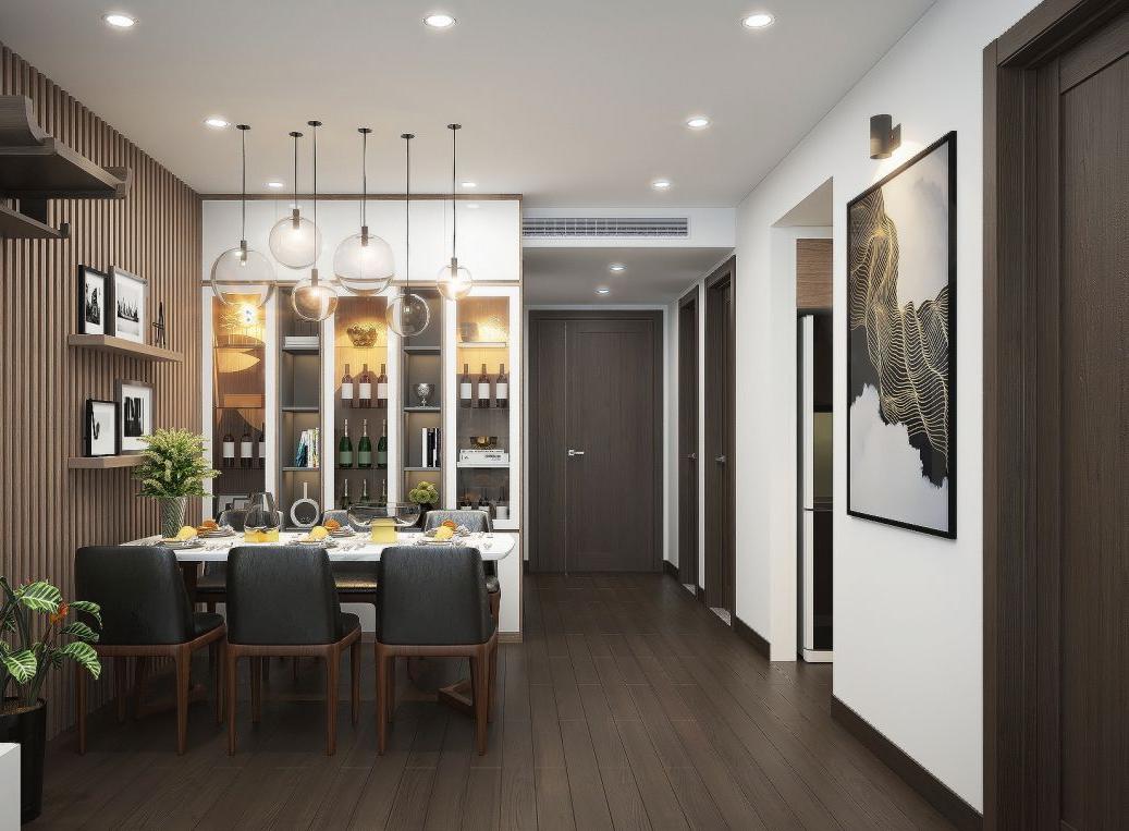 Thiết kế nội thất chung cư 85 m2 Phủ Lý - Hà Nam
