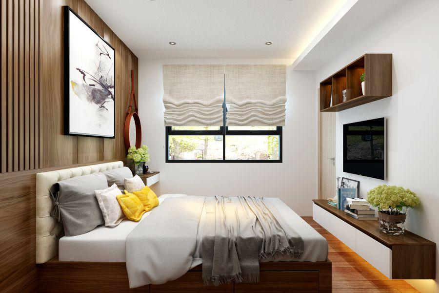 Thiết kế nội thất chung cư 60 m2 Hải Phòng