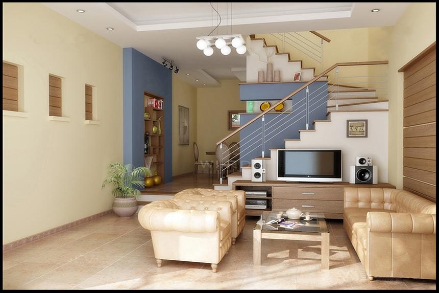 Thi công nội thất phòng khách - Công ty thi công nội thất trọn gói TQM