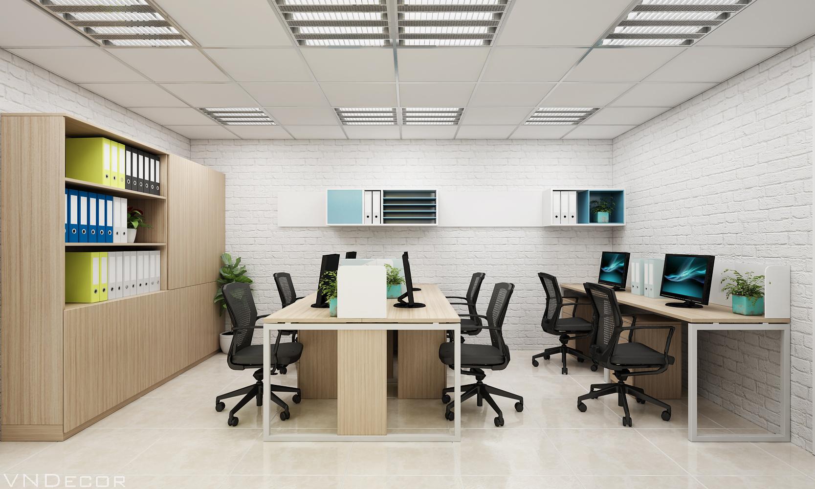 Thi công nội thất văn phòng chuyên nghiệp Phong-nhan-vien