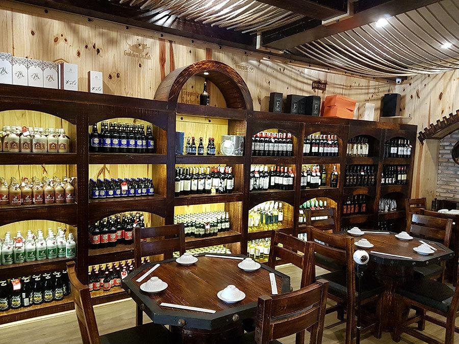 Thiết kế, thi công nội thất Showroom rượu Aum Wine Cellar, Quận 5