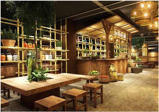 Thiết kế thi công nội thất nhà hàng Ngụy Như Kon Tum