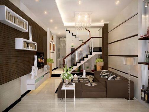Thiết kế, thi công nội thất nhà phố Phan Đình Phùng, quận Phú Nhuận