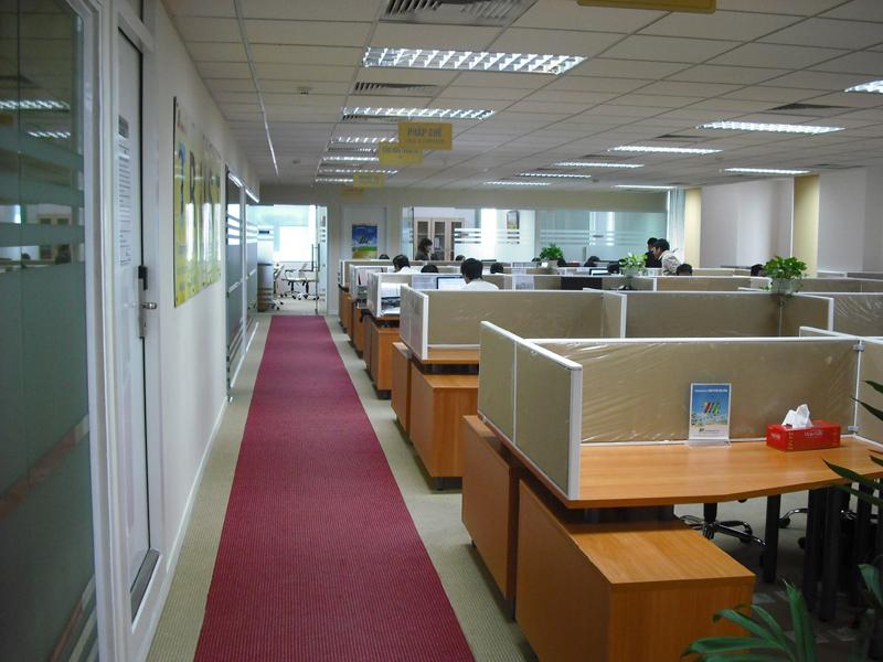 Thiết kế thi công trang trí nội thất văn phòng uy tín ở TpHCM