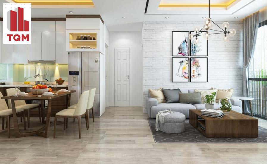 Thiết kế và thi công nội thất chung cư VOV Lương Thế Vinh