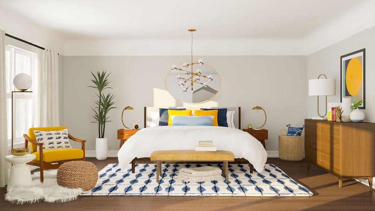 Giường ngủ gỗ gia đình hiện đại
