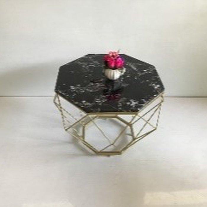 Bàn kim cương mặt đá đen (đk 70cm , cao 45)