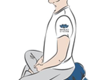 Tại sao gối ngồi thiền vỏ đậu SUNNY lại giúp bạn có tư thế ngồi đúng và cân bằng?