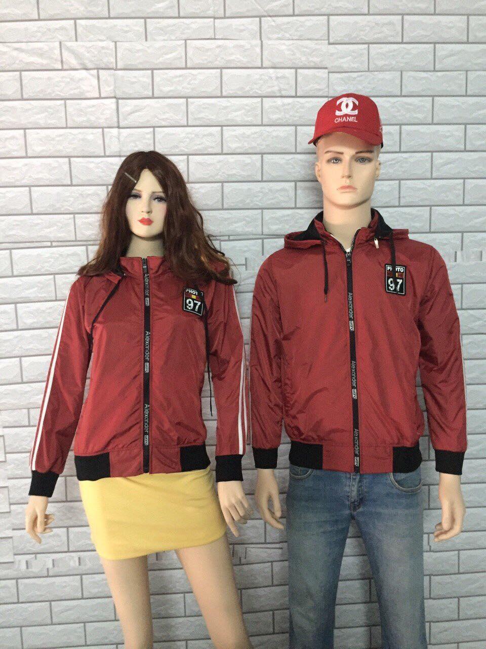 Áo khoác adidas đỏ