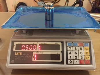 Hướng dẫn sử dụng cân tính tiền điện tử  UTE - UPA-Q - cân Huy Nguyễn