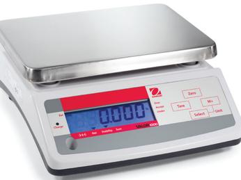 Hướng dẫn sử dụng và hiệu chuẩn cân điện tử Ohaus V11P- Valor 1000