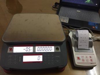 Hướng dẫn cài đặt và đếm mẫu cân Ranger count 2000 ohaus