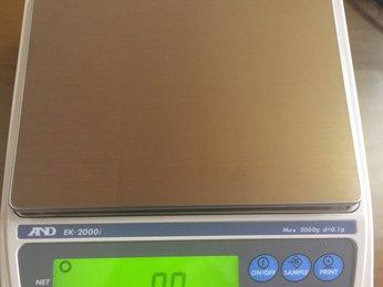 Hướng dẫn sử dụng và hiệu chuẩn cân AND KE2000i