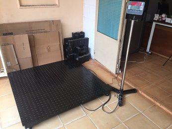 Cân sàn từ 500kg đến 2 tấn giá rẻ