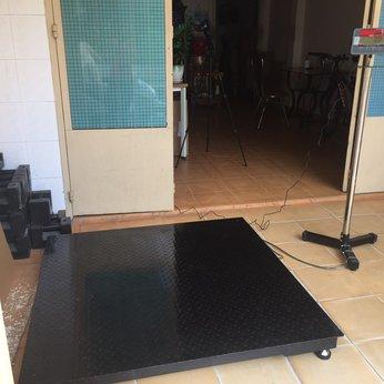 Cân sàn 2 tấn Ohaus T32MC