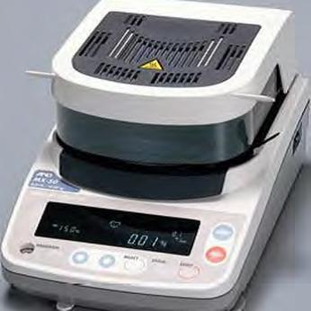 Thiết bị đo độ ẩm AND MX50 - Cân Huy Nguyễn