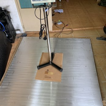 Cân sàn chống nước DiGi DI28SS từ 500kg đến 3000kg