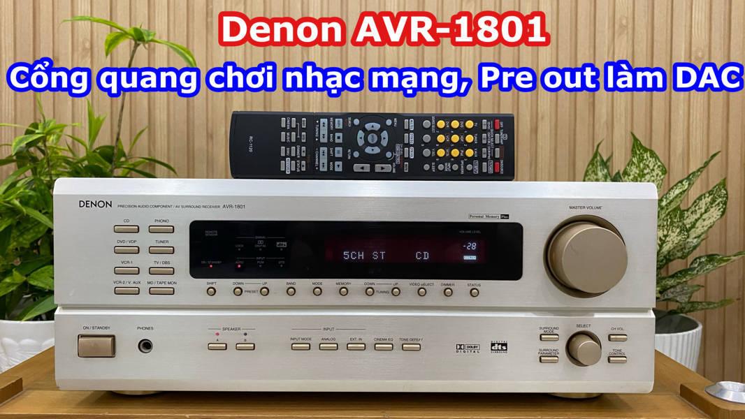 Denon AVR 1801