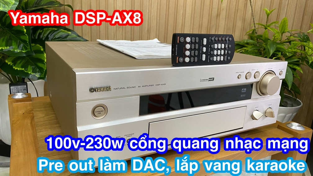 Yamaha DSP-AX8