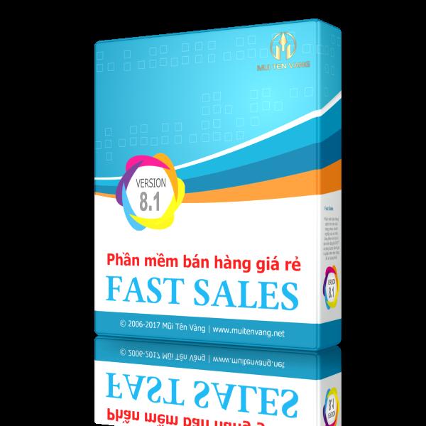 Phần mềm quản lý bán hàng giá rẻ FastSales
