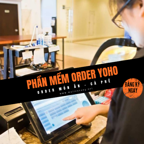 Phần mềm Order món ăn và cafe YOHO