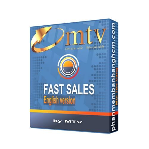 Phần mềm quản lý bán hàng Fast Sales - Phiên bản tiếng Hoa