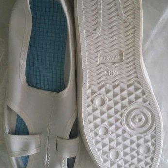 Giày phòng sạch chống tĩnh điện 4 lỗ Linkworld
