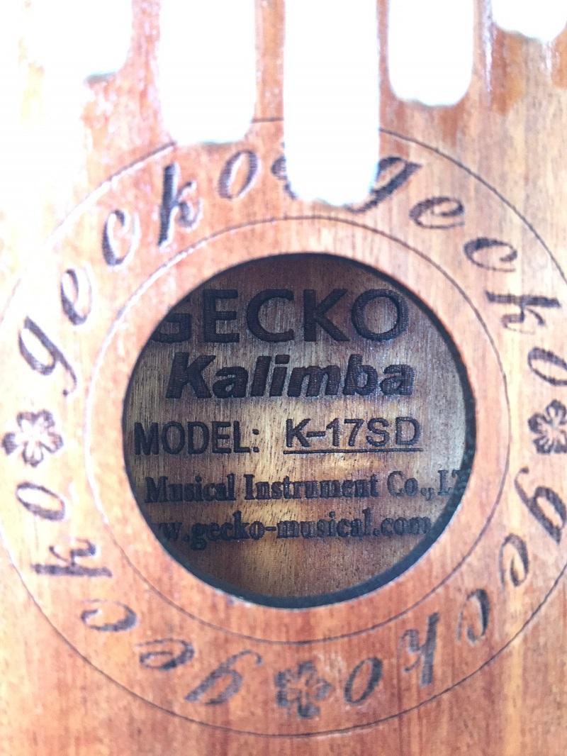 Đàn Kalimba 17 Phím Gỗ Hương Đỏ Cổ Điển Gecko KaLinh
