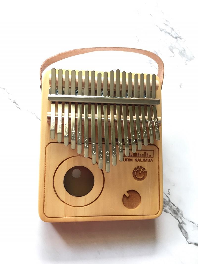 Đàn Kalimba 17 Phím Gỗ Thông Radio Purm KaLinh