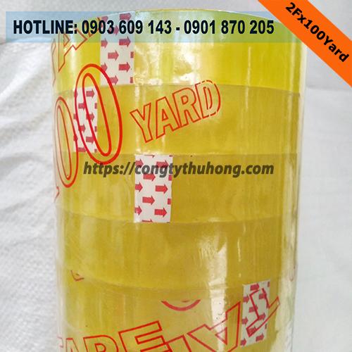 Băng keo vàng chanh 2f siêu dính giá sỉ rẻ nhất tại TP.HCM